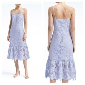 Banana Limited Edition blue lace flounce slip 6